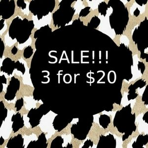 Other - 3/$20 Sale